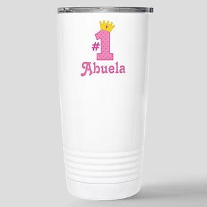 Abuela (Number One) Stainless Steel Travel Mug
