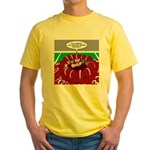 Football Huddle Odor Yellow T-Shirt