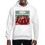 Football Huddle Odor Hooded Sweatshirt