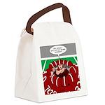 Football Huddle Odor Canvas Lunch Bag