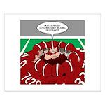 Football Huddle Odor Small Poster
