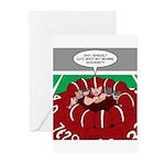 Football Huddle Odor Greeting Cards (Pk of 20)