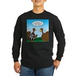 Turkey Referee Long Sleeve Dark T-Shirt