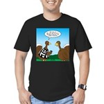 Turkey Referee Men's Fitted T-Shirt (dark)