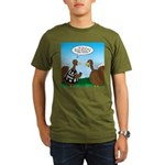 Turkey Referee Organic Men's T-Shirt (dark)