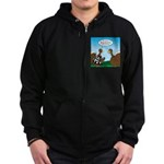 Turkey Referee Zip Hoodie (dark)