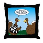 Turkey Referee Throw Pillow