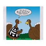 Turkey Referee Throw Blanket