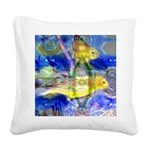 Nature Reflections I Square Canvas Pillow