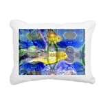 Nature Reflections I Rectangular Canvas Pillow