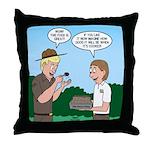 Good Cooking Throw Pillow