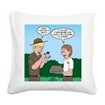 Good Cooking Square Canvas Pillow