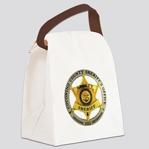 Coconino County Sheriff Canvas Lunch Bag