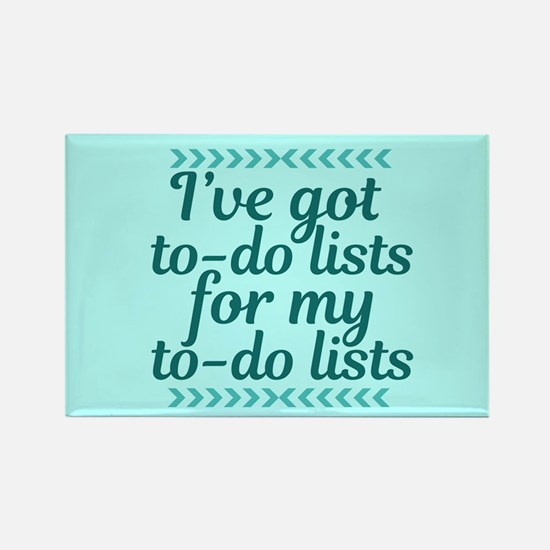 To Do Lists Rectangle Magnet