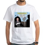 Bald Movie Villains White T-Shirt