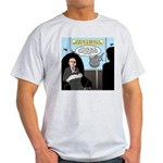 Bald Movie Villains Light T-Shirt
