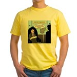 Bald Movie Villains Yellow T-Shirt