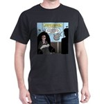 Bald Movie Villains Dark T-Shirt