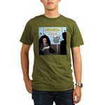 Bald Movie Villains Organic Men's T-Shirt (dark)