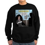Bald Movie Villains Sweatshirt (dark)