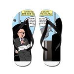 Bald Movie Villains Flip Flops