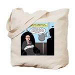 Bald Movie Villains Tote Bag