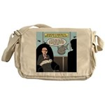 Bald Movie Villains Messenger Bag