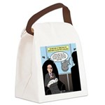 Bald Movie Villains Canvas Lunch Bag