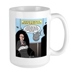 Bald Movie Villains Large Mug