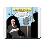 Bald Movie Villains Mousepad