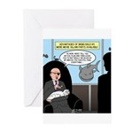 Bald Movie Villains Greeting Cards (Pk of 20)