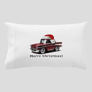 BabyAmericanMuscleCar_57BelR_Xmas_Winred Pillow Ca