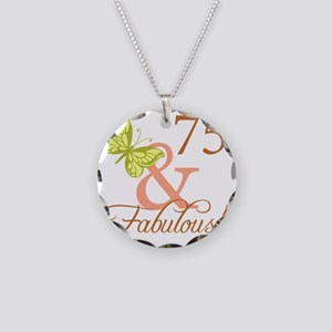 fabulous_autumn 75 Necklace Circle Charm