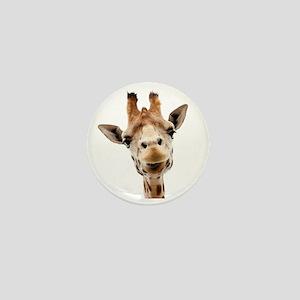 Giraffe Face New Profile Mini Button