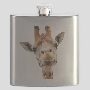 Giraffe Face New Profile Flask