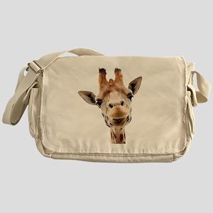 Giraffe Face New Profile Messenger Bag