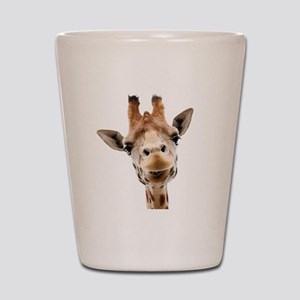 Giraffe Face New Profile Shot Glass