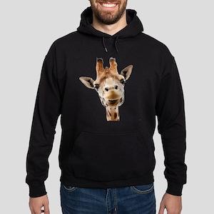 Giraffe Face New Profile Hoodie (dark)