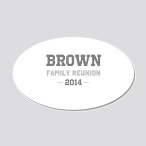 Personal Surname Family Reunion Wall Sticker