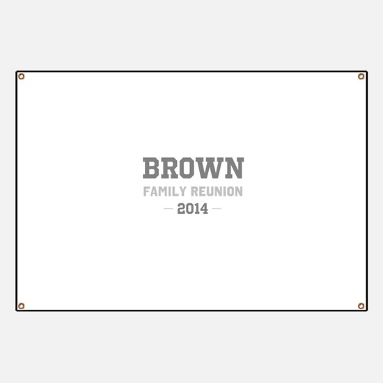 Personal Surname Family Reunion Banner