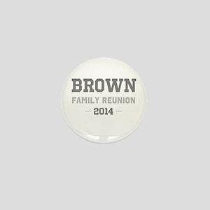 Personal Surname Family Reunion Mini Button
