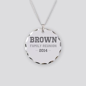 Personal Surname Family Reunion Necklace Circle Ch