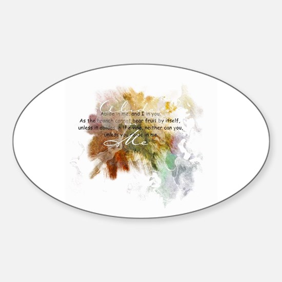 Abide in Me Decal
