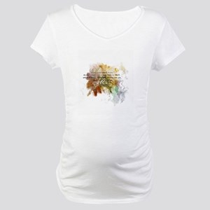 Abide in Me Maternity T-Shirt