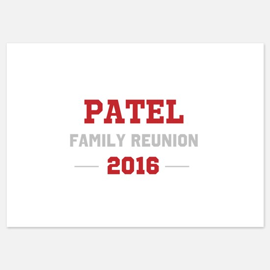 Template Red Family Reunion Invitations