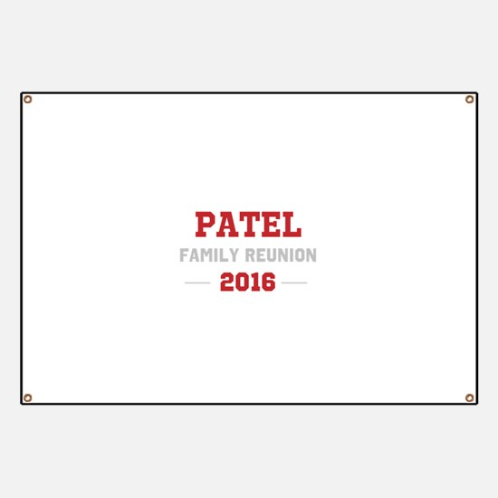 Template Red Family Reunion Banner
