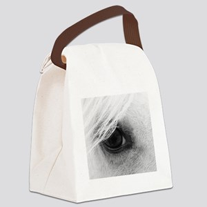 Horse Eye Canvas Lunch Bag