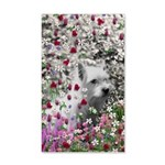 Violet the White Westie 20x12 Wall Decal