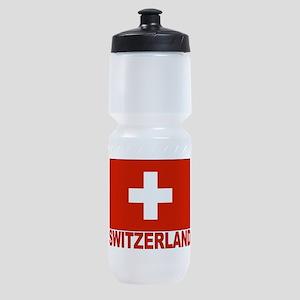 swiss-flag Sports Bottle