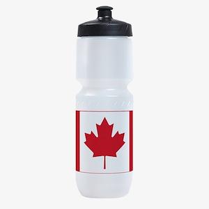 canadian-flag.png Sports Bottle
